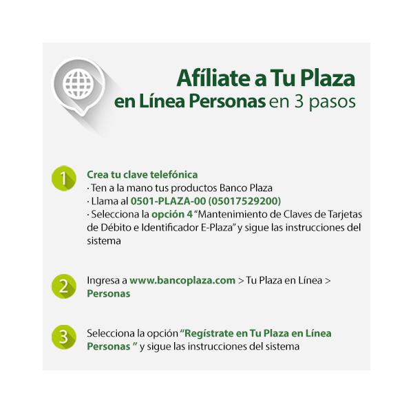Tu Plaza en Línea | Banco Plaza | Banco Plaza